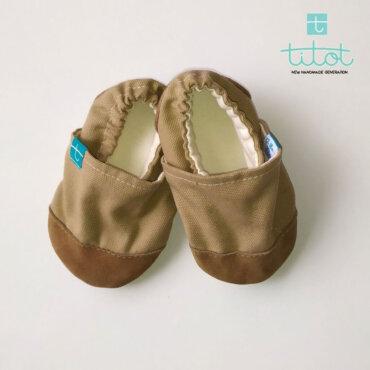 Βρεφικά Παπούτσια Αγκαλιάς Εσπρέσο baby run Χειροποίητα Βαμβακερό 12-18 Mηνών   TiTot Νο 20