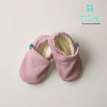 Βρεφικά Παπούτσια Αγκαλιάς Καραμελίτσα baby run Χειροποίητα Βαμβακερό18-24 Mηνών   TiTot Νο 22