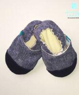 Βρεφικά Παπούτσια Αγκαλιάς Ναυτάκι baby run Χειροποίητα Βαμβακερό 12-18 Mηνών | TiTot Νο 20