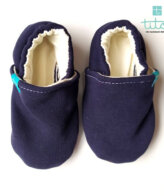 Βρεφικά Παπούτσια Αγκαλιάς Ναύτης baby run Χειροποίητα Βαμβακερό 24-36 Mηνών   TiTot Νο 24
