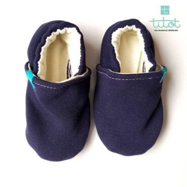 Βρεφικά Παπούτσια Αγκαλιάς Ναύτης baby run Χειροποίητα Βαμβακερό 24-36 Mηνών | TiTot Νο 24