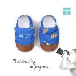 Βρεφικά Παπούτσια Αγκαλιάς Ώρα για Δουλειά baby run Χειροποίητα Βαμβακερό 18-24 Mηνών | TiTot Νο 22