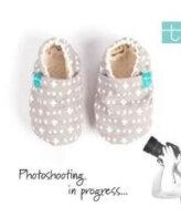 Βρεφικά Παπούτσια Αγκαλιάς Crawl Πέτρινα Κύματα baby run Χειροποίητα 18-24 Mηνών | TiTot Νο 22