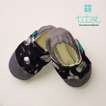 Βρεφικά Παπούτσια Αγκαλιάς Xειμέρια νάρκη baby run Χειροποίητα Βαμβακερό 24-36 Mηνών | TiTot Νο 24