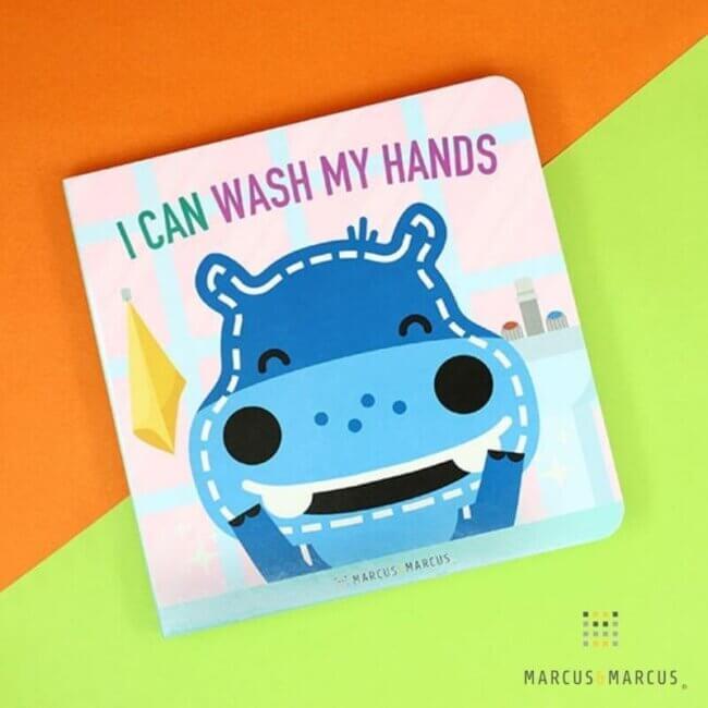 Βιβλίο Εκπαιδευτικό ''Πρέπει να πλένω τα Χεράκια μου'' marcus & marcus MNMGF09 Απο 24 Μηνών+, μόνο στην Αγγλική γλώσσα