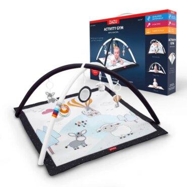 Χαλάκι Παιχνιδιού Δραστηριοτήτων Γυμναστήριο για μωρά Farm ZAZU ZA-GYM-01