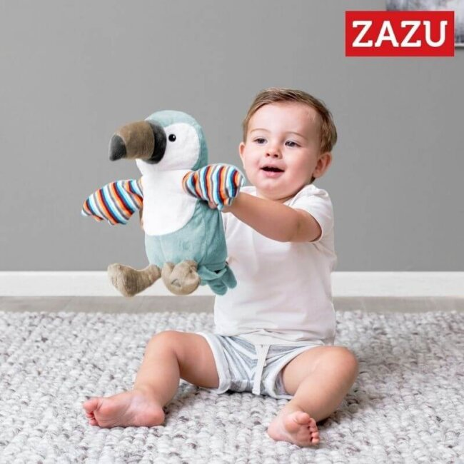 Zazu Timo πουλάκι Toucan με Παλαμάκια & Μουσική Δραστηριοτήτων ZA-TIMO-01