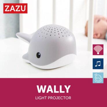 Wally προβολέας ύπνου Ωκεανού με λευκούς ήχους Φάλαινα Whale ZAZU ZA-WALLY-01