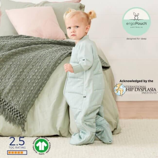 ErgoPouch Sage Παιδικός Υπνόσακος 2-4 ετών χωριστά ποδαράκια 2 σε 1 - 2.5 TOG