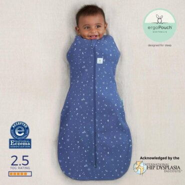 ErgoPouch Βρεφικός Υπνόσακος 3-12 Μηνών Coccon Night Sky 2.5 TOG