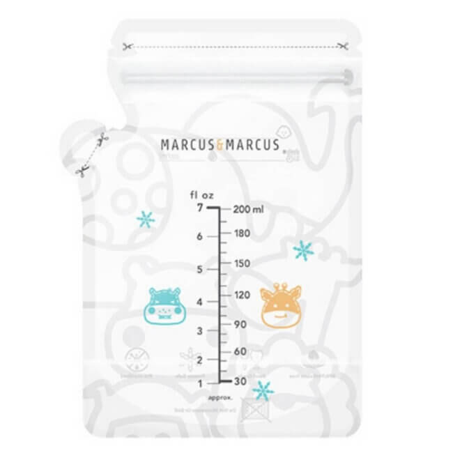 Marcus & Marcus Stand Up Σακουλάκια αποθηκευσης μητρικου γαλακτος 200ml