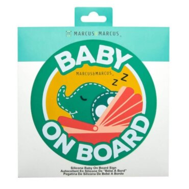 OLLIE Baby On Board Σιλικόνης Ελεφαντάκι για εσωτερική τοποθέτηση