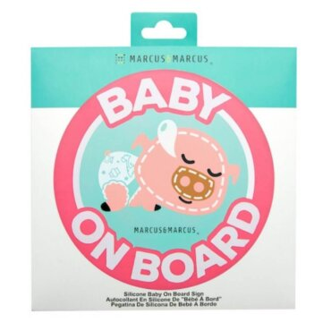 POKEY Baby On Board Σιλικόνης Γουρουνάκι για εσωτερική τοποθέτηση