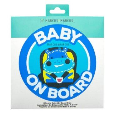 LUCAS Baby On Board Σιλικόνης Ιπποπόταμος για εσωτερική τοποθέτηση